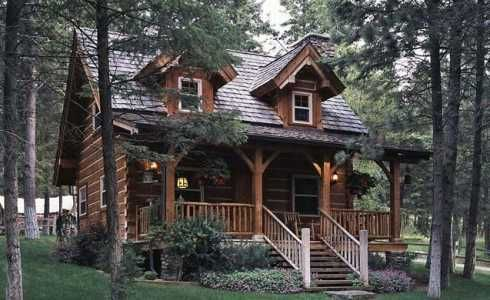 Peachy 17 Best Images About Small Log Cabin Homes On Pinterest Log Largest Home Design Picture Inspirations Pitcheantrous