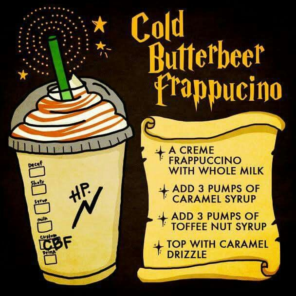 Starbucks butter beer