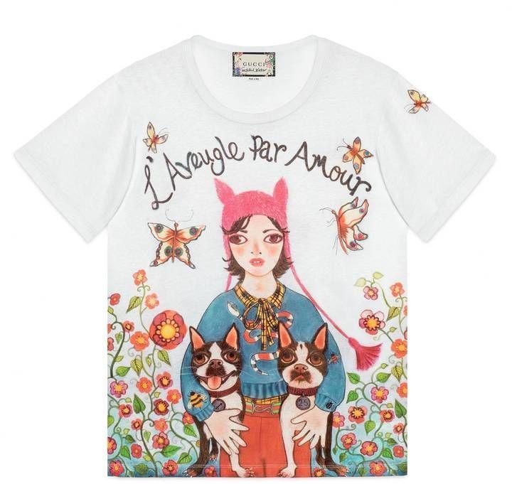 7b68959df65 Gucci Unskilled Worker T-shirt