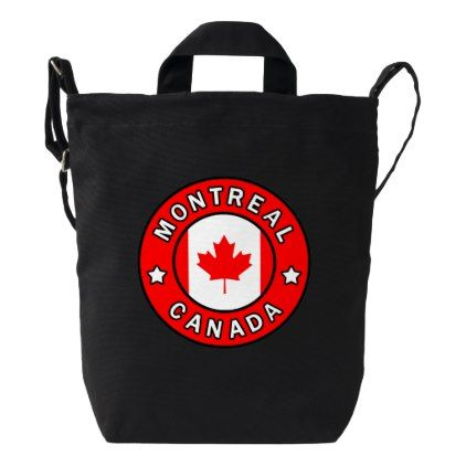 Montreal canada duck bag personalize design idea new special montreal canada duck bag personalize design idea new special custom diy or cyo negle Gallery