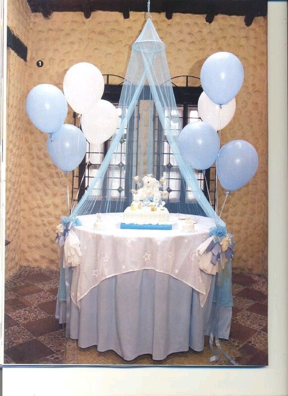 Toma Nota De Estas 15 Lindas Ideas En Tonos Azules Para Un Baby Shower La Mayoria De Ellas Decoraciones De Baby Shower Para Ninos Globos Boy Baby Shower Ideas