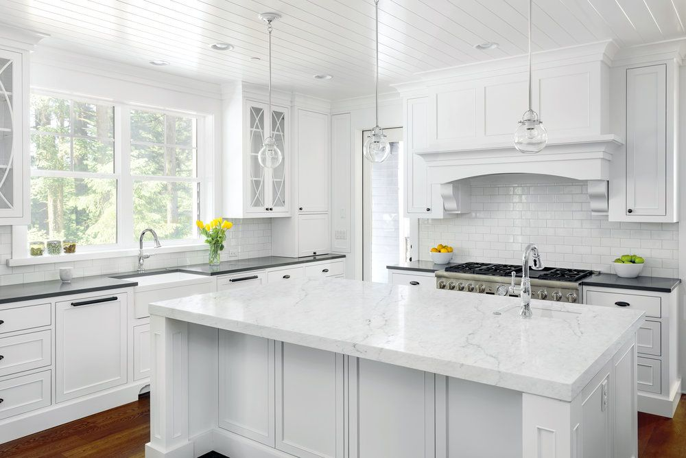 Image result for bianco luna quartz countertop White