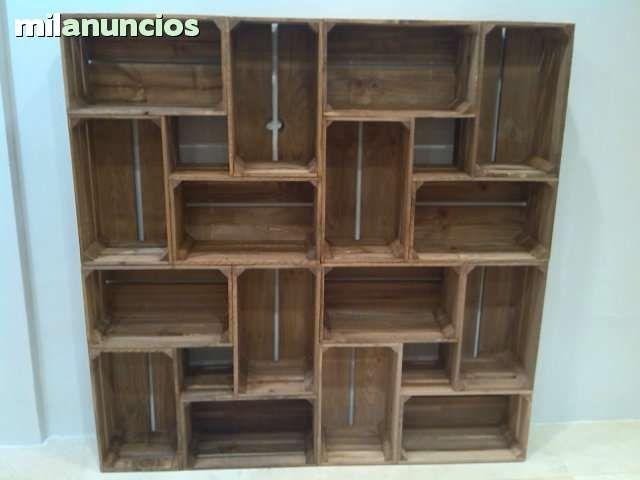 Mil anuncios com anuncios de cajas madera fruta cajas for Milanuncios tenerife muebles