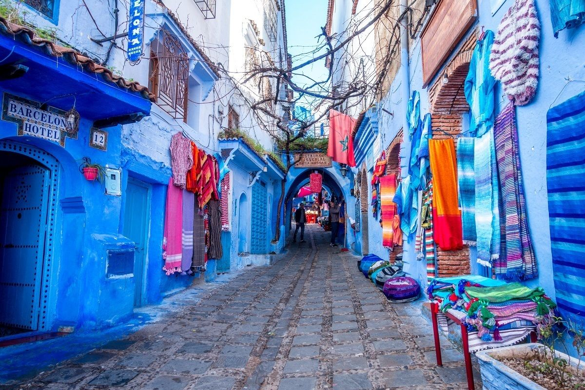 The Reality of ChefchaouenMorocco's Blue City Blue