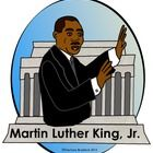 This Free Martin Luther KIng, Jr. Clip art features the Lincoln Memorial in the background.  It is in a 300 dpi transparent format for high quality...