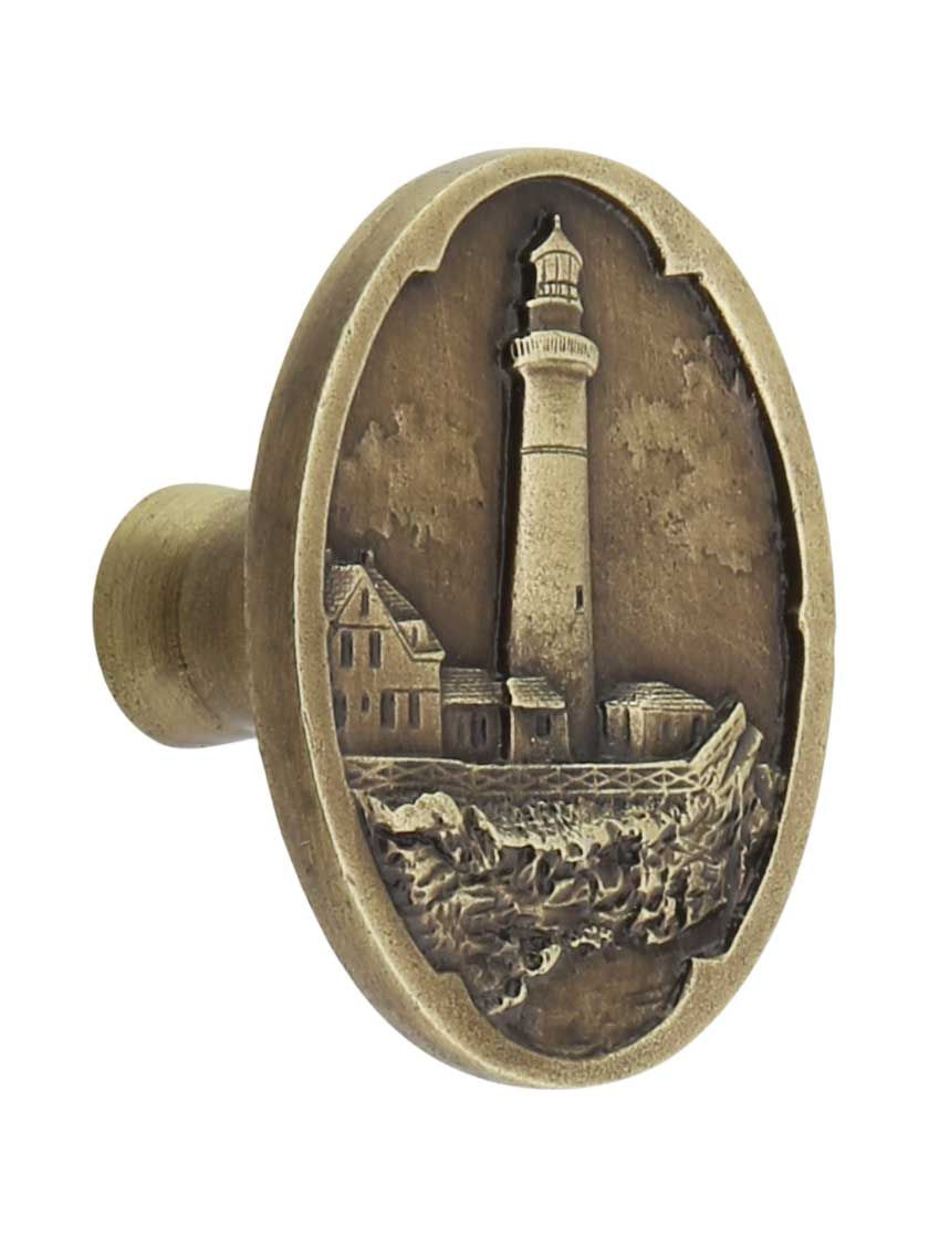 Guiding Lighthouse Cabinet Knob | House of Antique Hardware ...