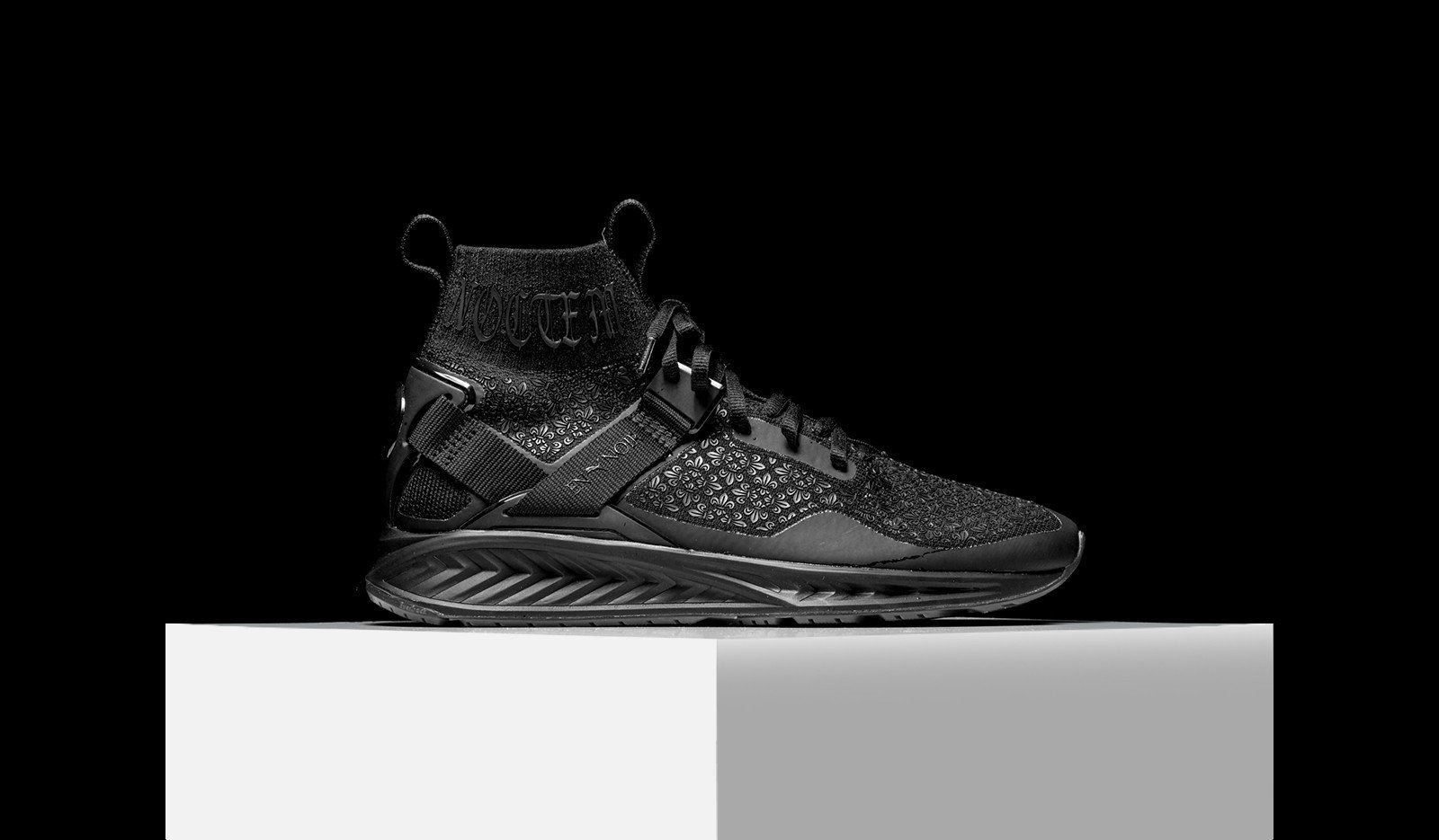 separation shoes 8ba37 e60c2 Puma x En Noir Ignite EvoKnit | kicks | All black sneakers ...