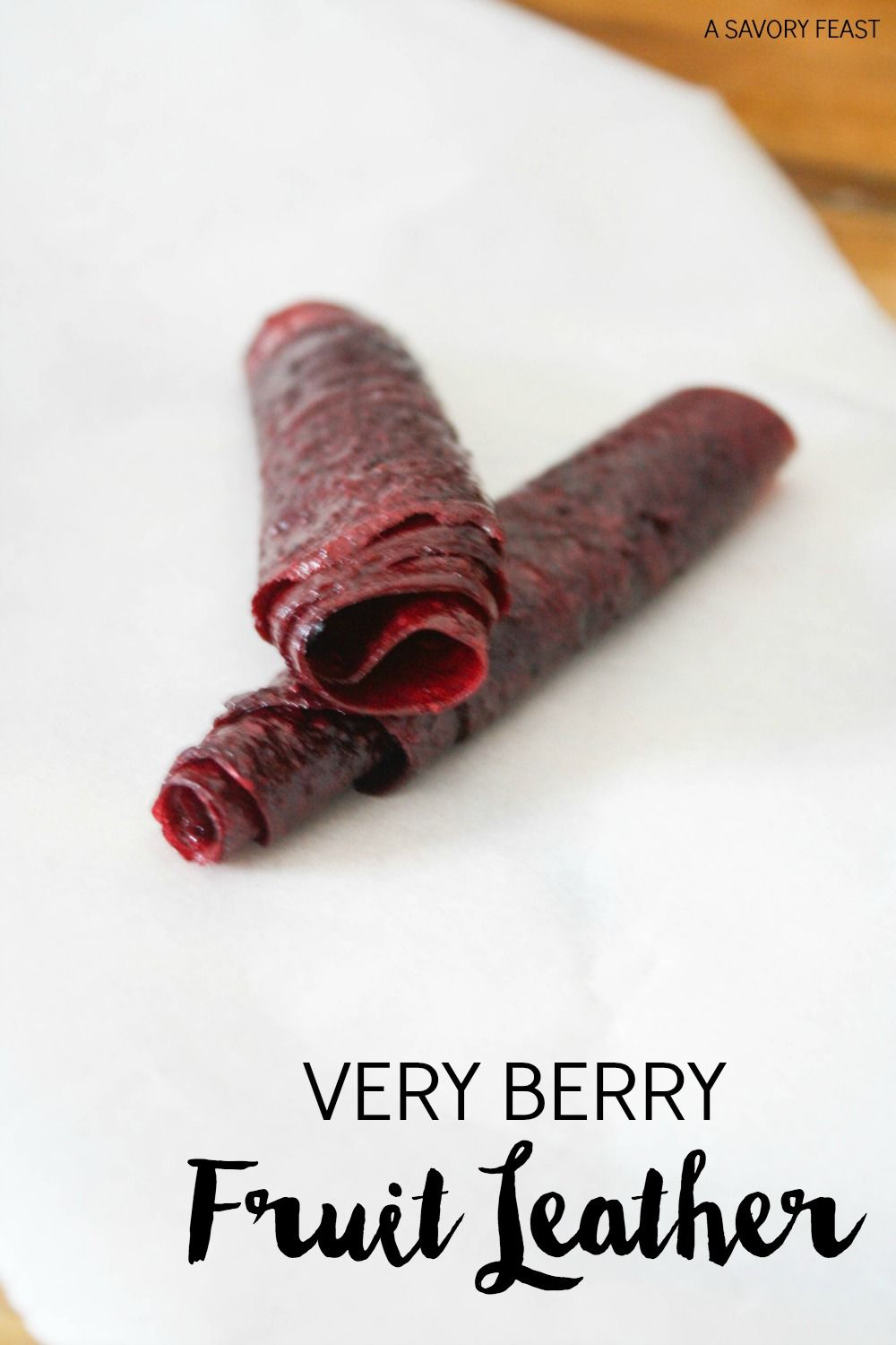 Very Berry Fruit Leather Recipe Fruit Leather Healthy