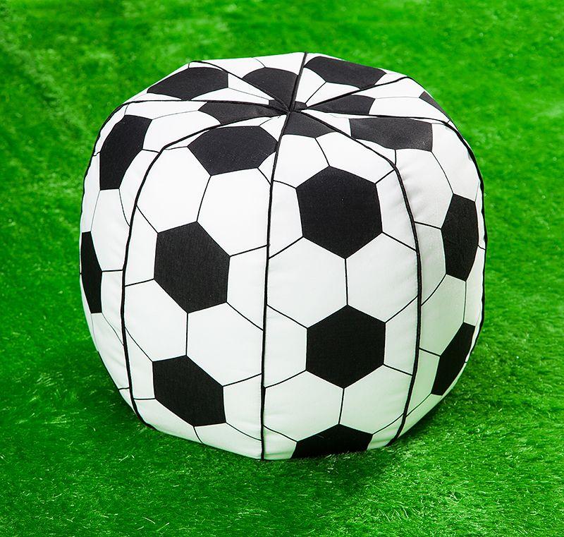 kostenlose Anleitung und Schnittmuster Fußball - Sitzsack ...