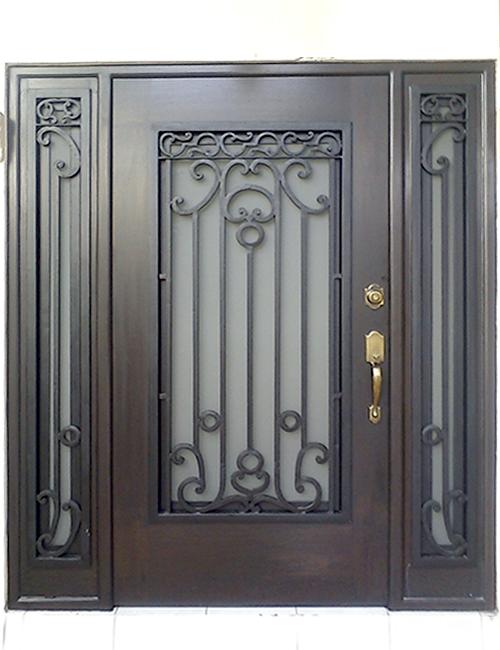 puertas principales forja herreria moderna puertas