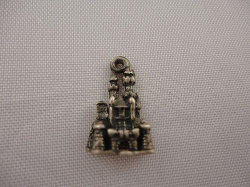 Vintage 3 D Sterling Silver Bracelet Charm Disneyland Cinderella Castle Disney   eBay
