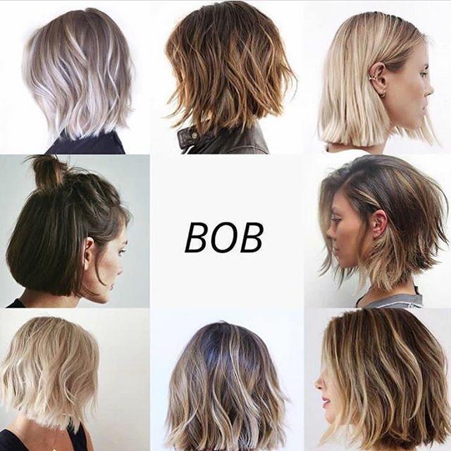 settimanale ✂️ Chi non ama Bob? Pinterest. ,,,,,,, ...   - Haar Ideen -