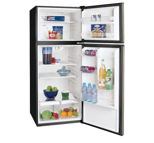 Frigidaire 9.9 Cu. Ft. Top Freezer Apartment-Size Refrigerator ...