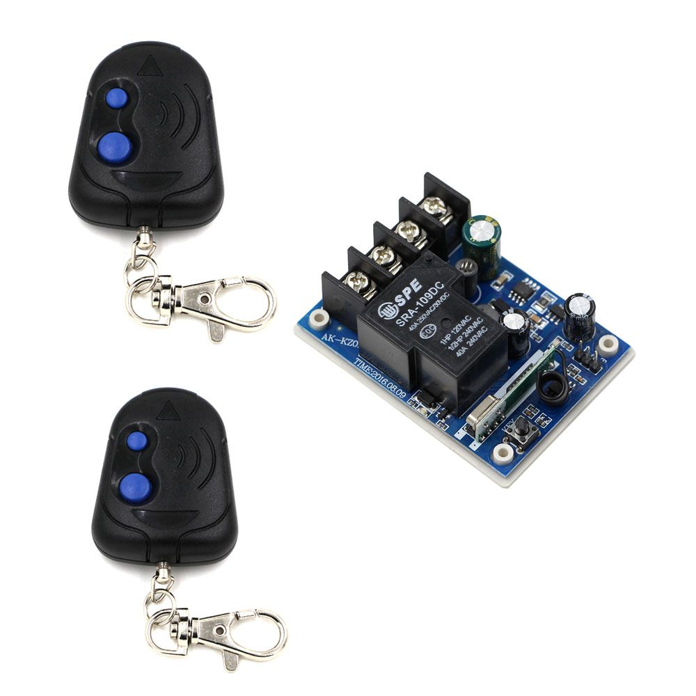 New Wireless Remote Control Switches DC 12V-48V 30A Relay