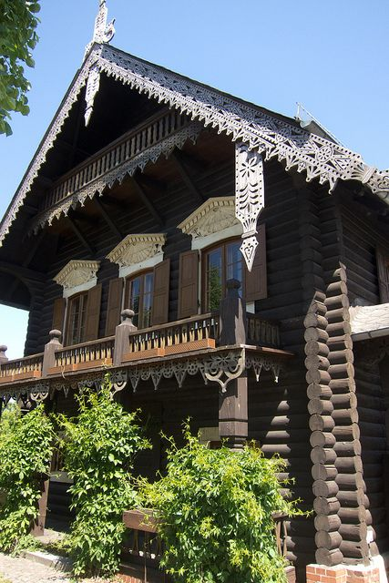 Traditional Russian log house   Flickr - Photo Sharing!