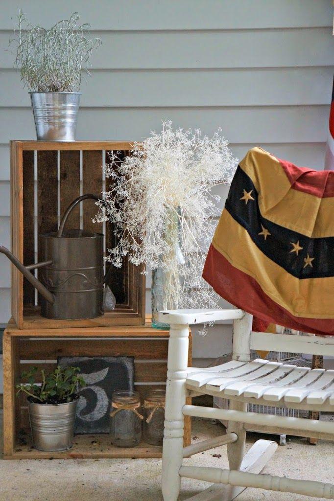 Patriotic Decor | Seeking Lavendar Lane