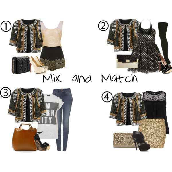 Mix and Match; Get more out of it :)