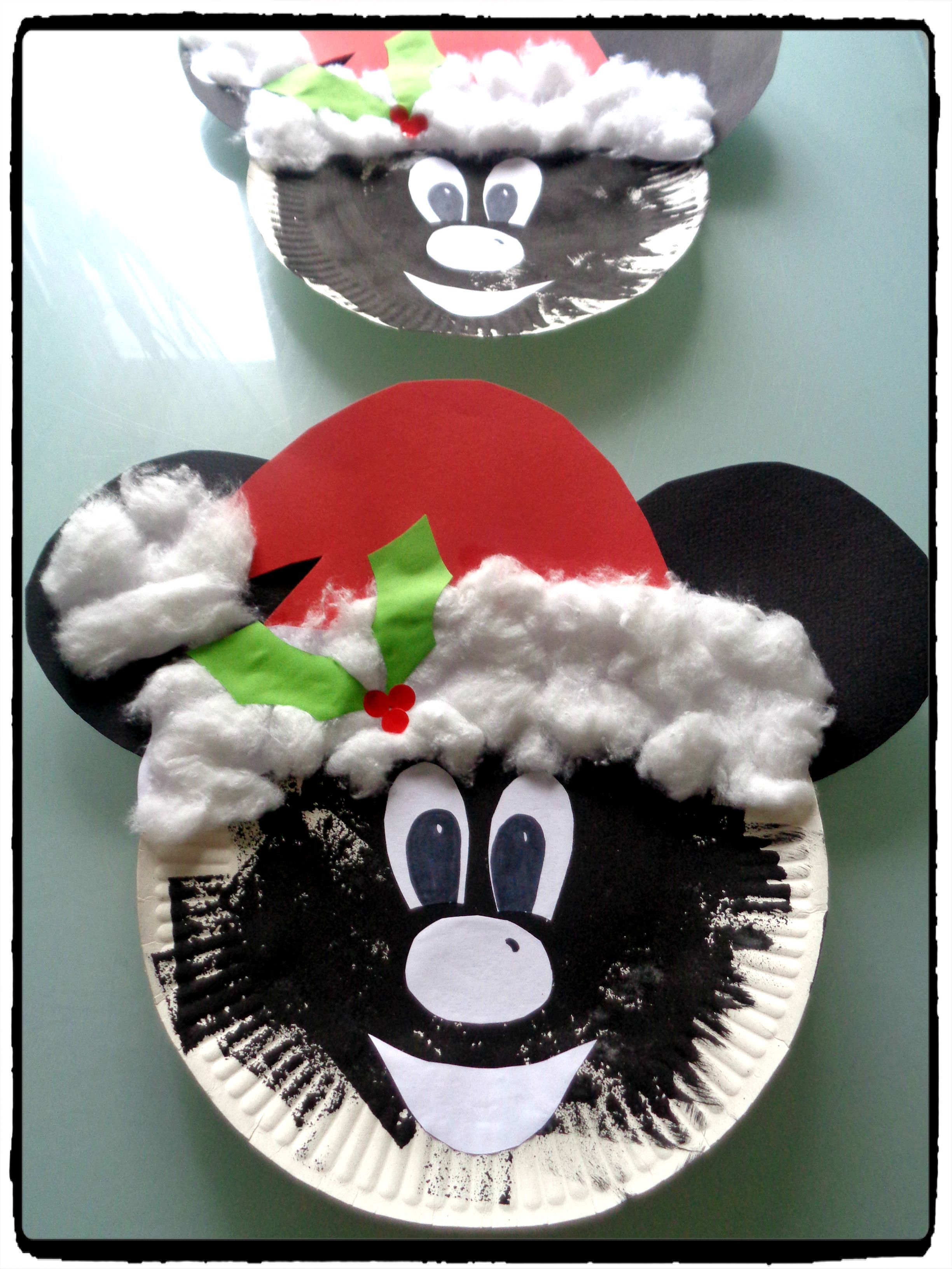 Decoration Noel Mickey Mickey Et Minnie Fêtent Noël ! - | Bricolages De Noël