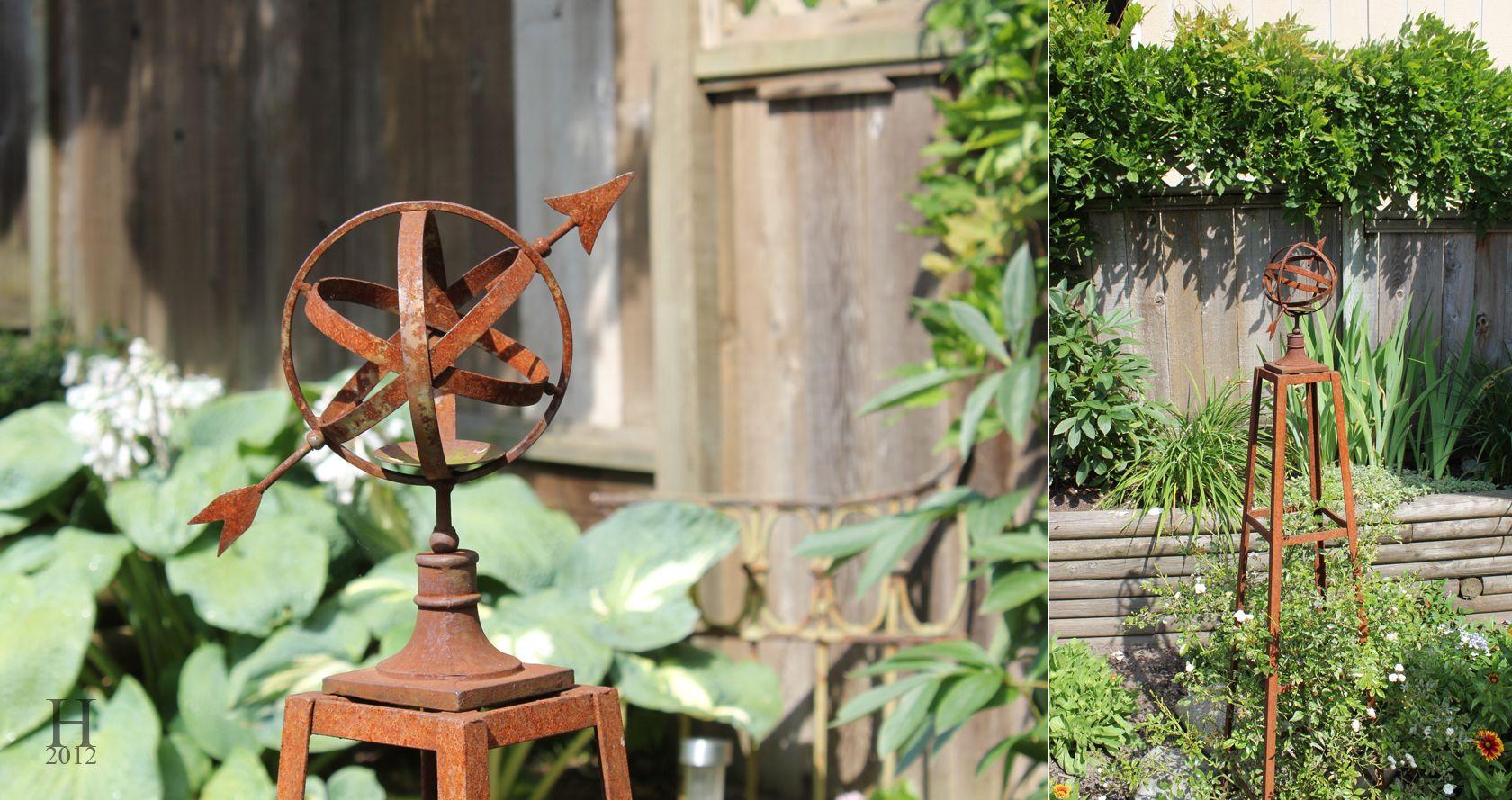 outdoor metal decor | Garden | Pinterest | Gardens, Garden junk and ...
