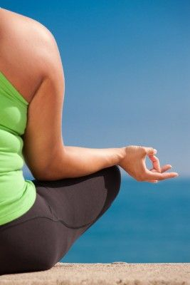 yogalates what's that yoga exercises  obese women