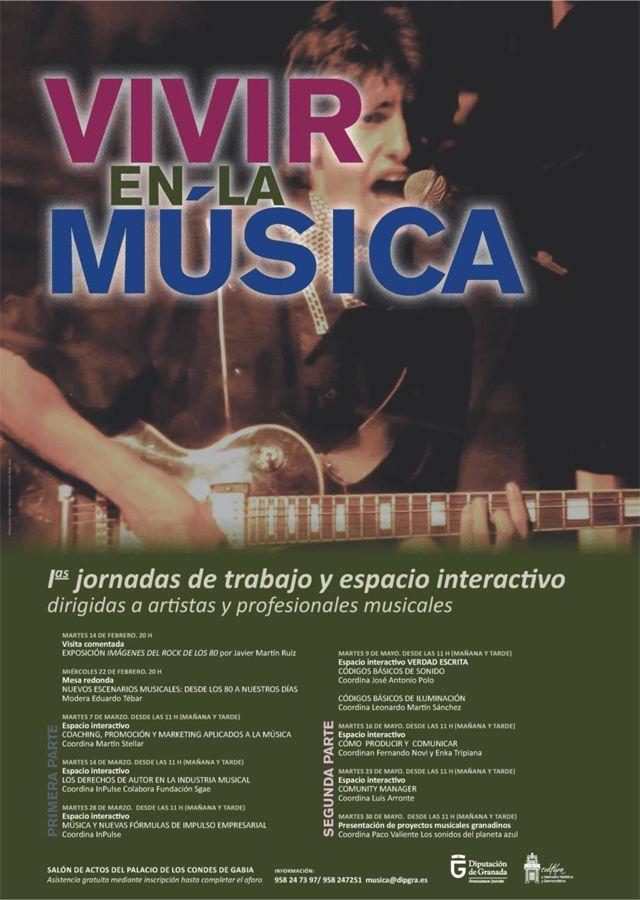 [Granada] Jornadas de Trabajo y Espacio Interactivo dirigidas a artistas y profesionales musicales, https://promocionmusical.es/: