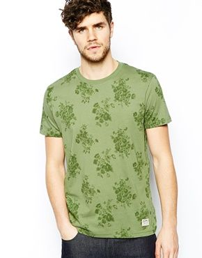 Jack Wills Camberwell T-Shirt with Floral Print