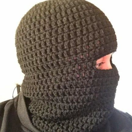 Crochet a Balaclava Ski Hat ~ Hooking is a Lifestyle | Crocheting ...