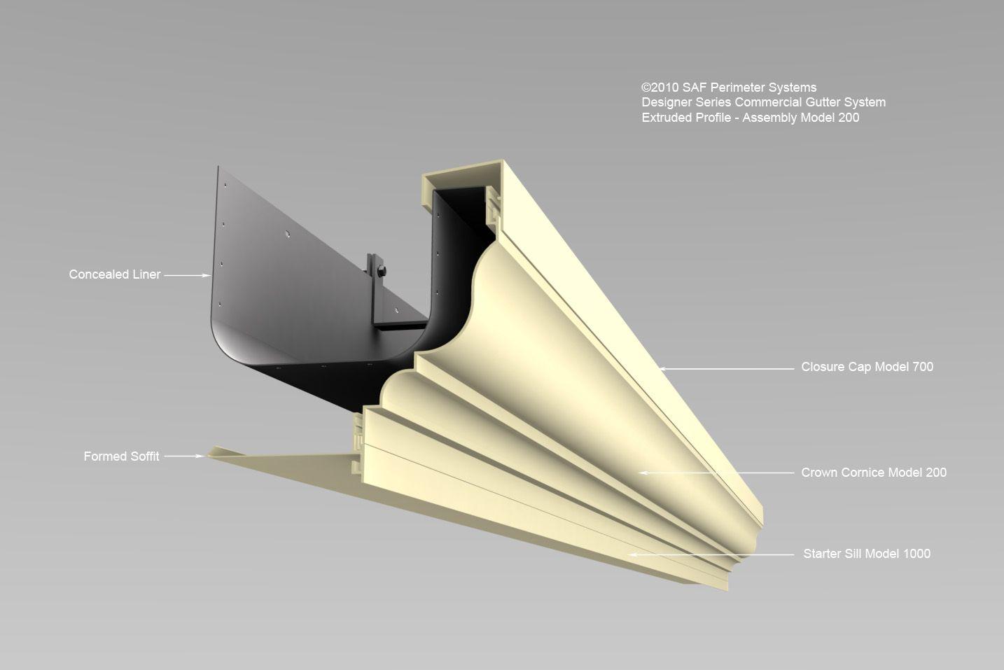 Feature Views Series 200 Extruded Gutters Saf Southern Aluminum Finishing Co Inc Saf Southern Aluminum Finish Diy Home Repair House Trim Gutter Sizes