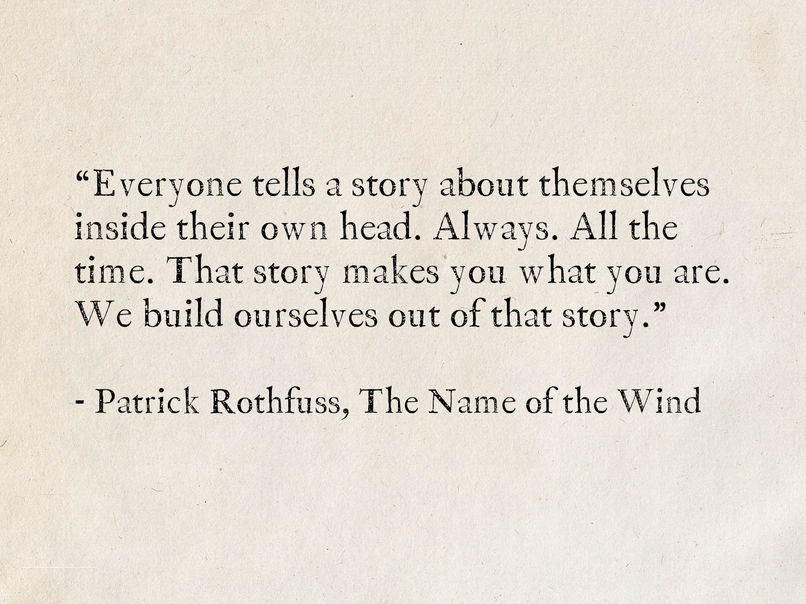Patrick Rothfuss Quotes on Love, Life and Everything in Between | THE ROCKLE