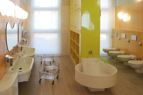 Nido aziendale cariparma feelgood designs kita for Raumgestaltung badezimmer