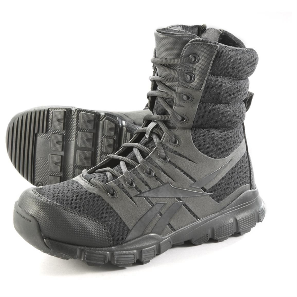 reebok police boots