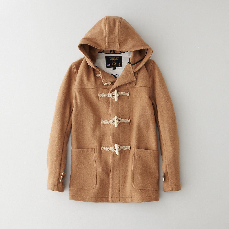 Fidelity Sportswear Wool Hooded Toggle Coat | Men's Outerwear ...