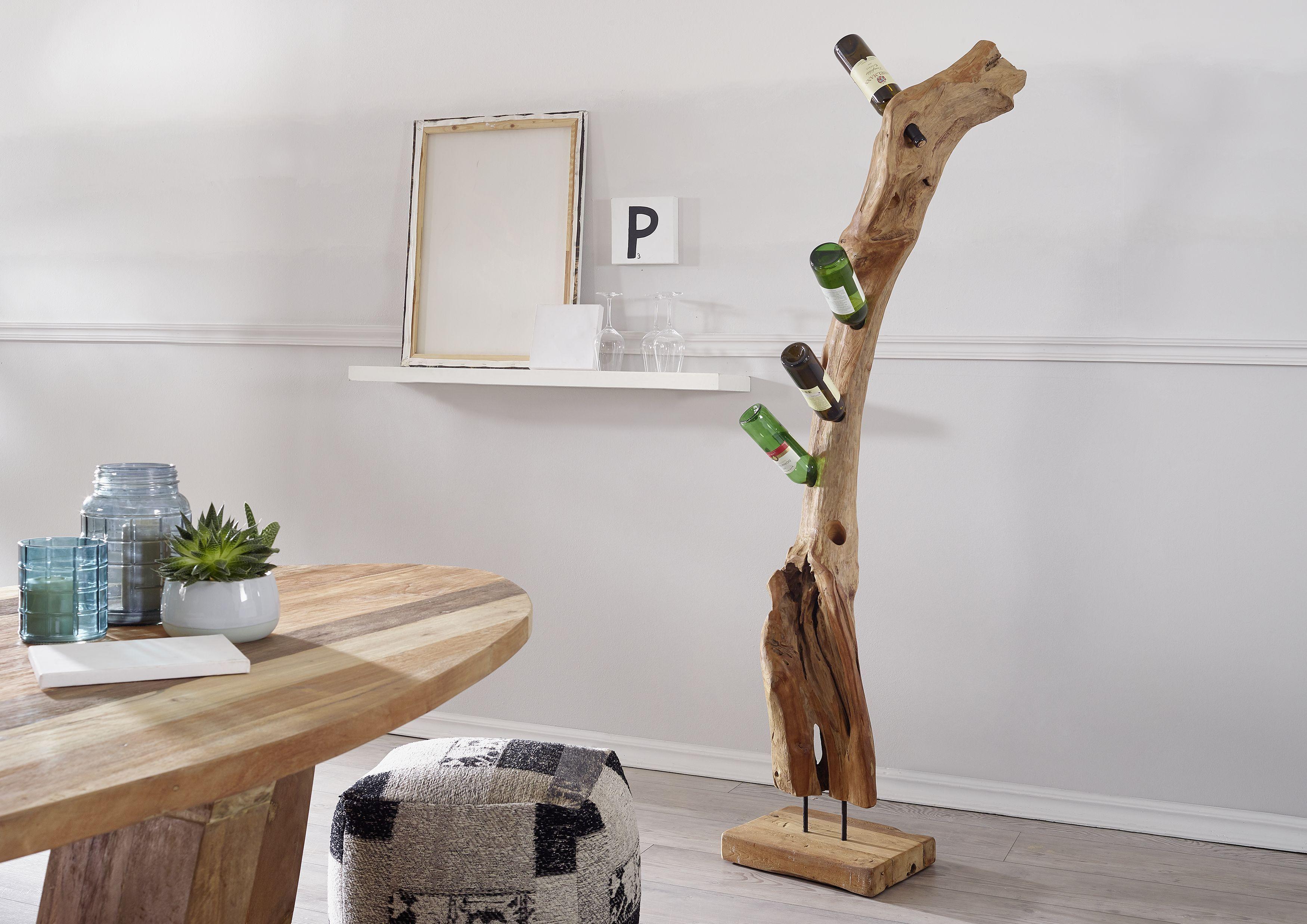 Weinständer Teak Wurzel 170cm natur unbehandelt UNIKA #156 | Deko ...