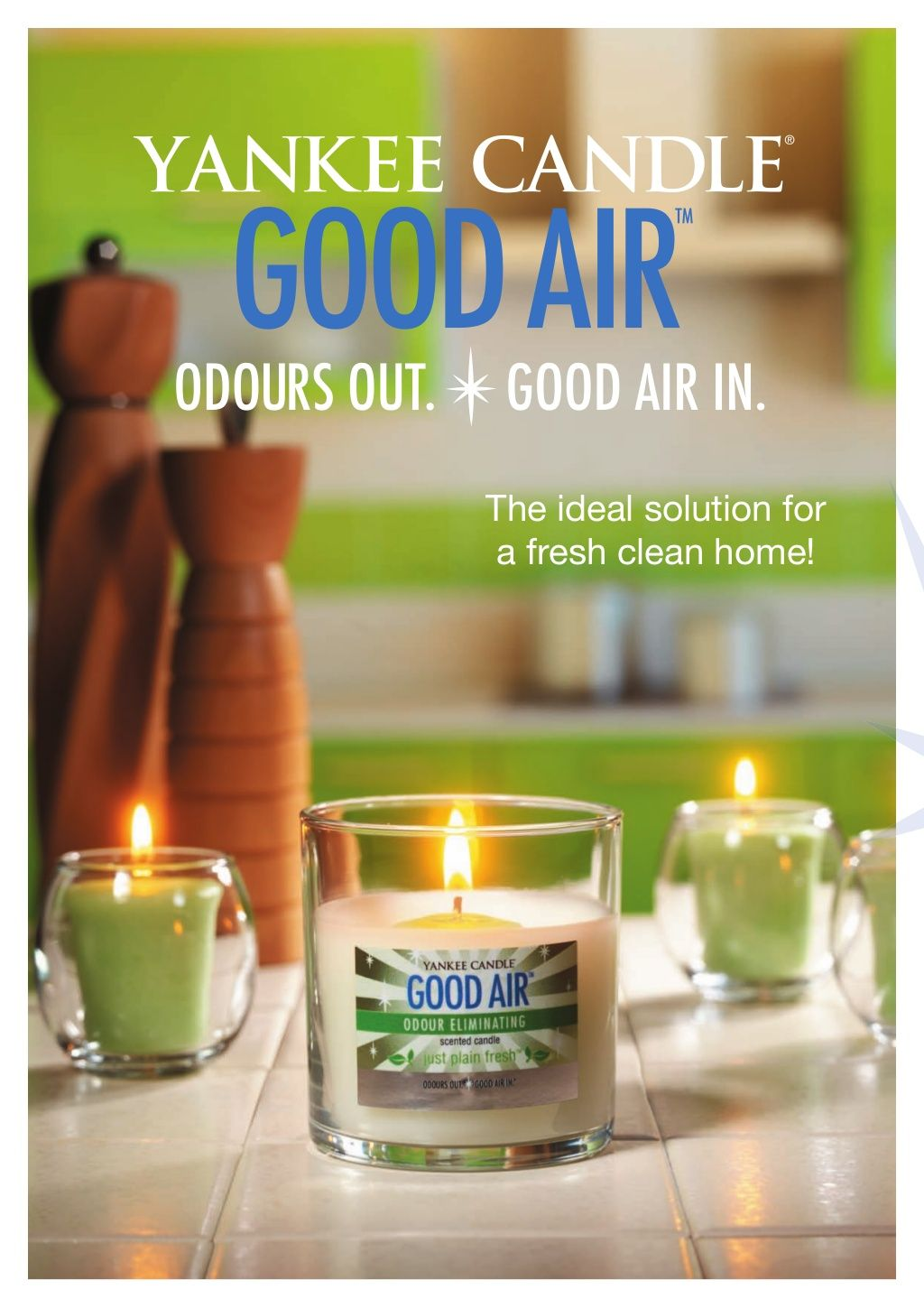 Have tried the good air candles and they are ok not my favorite