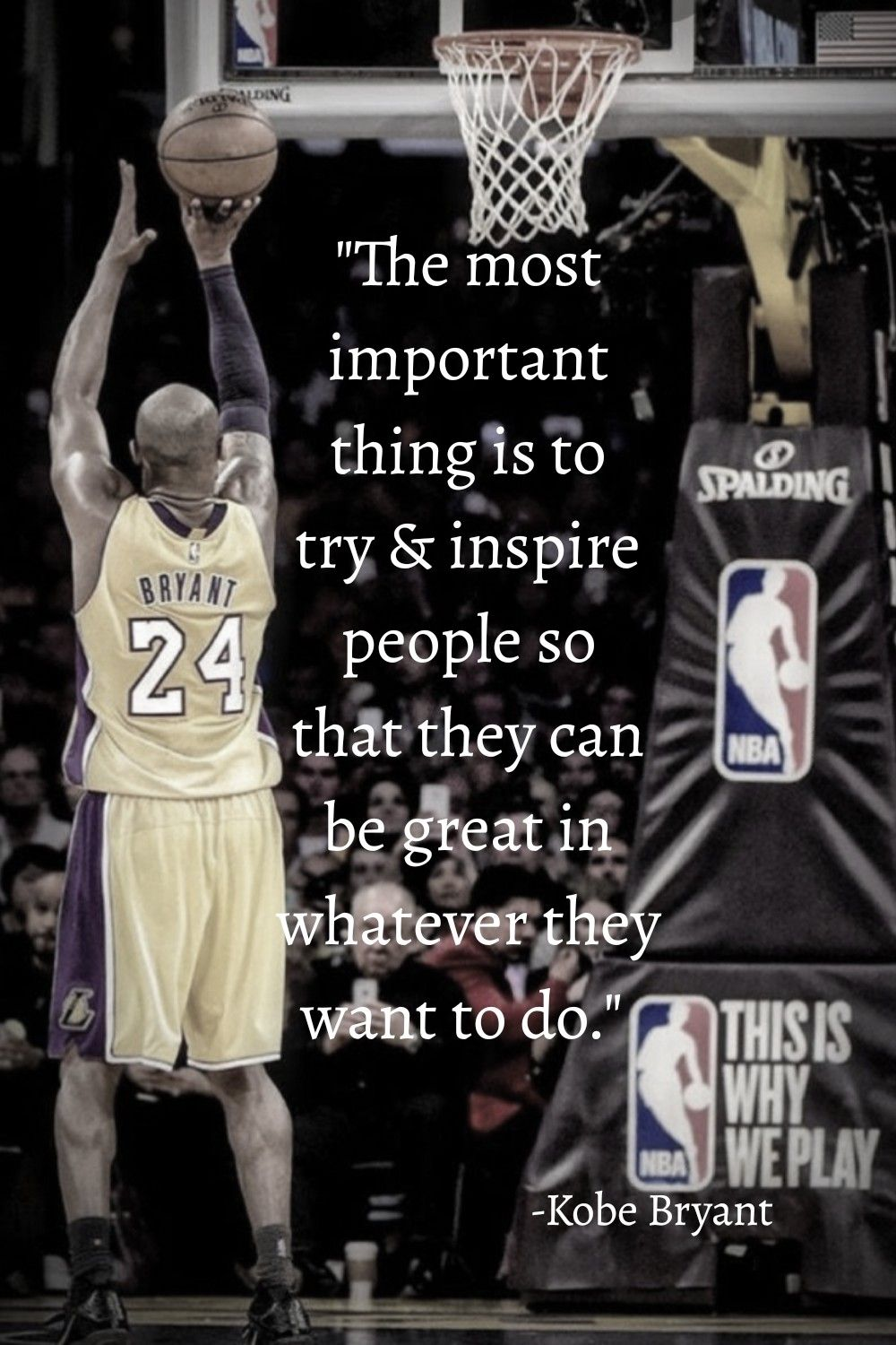 Quote From Kobe Bryant In 2020 Kobe Bryant Quotes Kobe Quotes Kobe Bryant