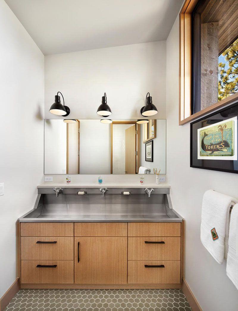 Bathroom Design Idea - Extra Large Sinks Or Trough Sinks   Trough ...