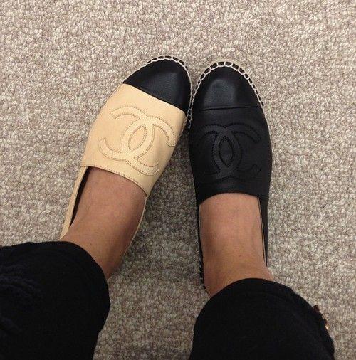 Chanel shoes, Chanel espadrilles