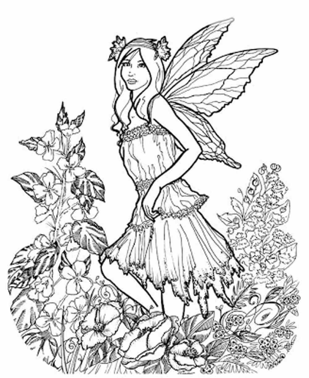 Pin On Coloring Pages Fairies