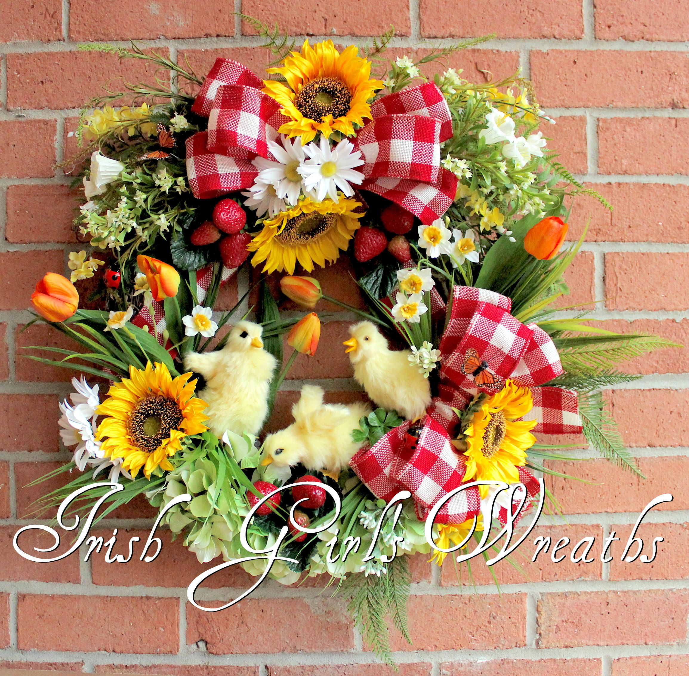 Americana/Country Irish Girl's Wreaths Wreaths