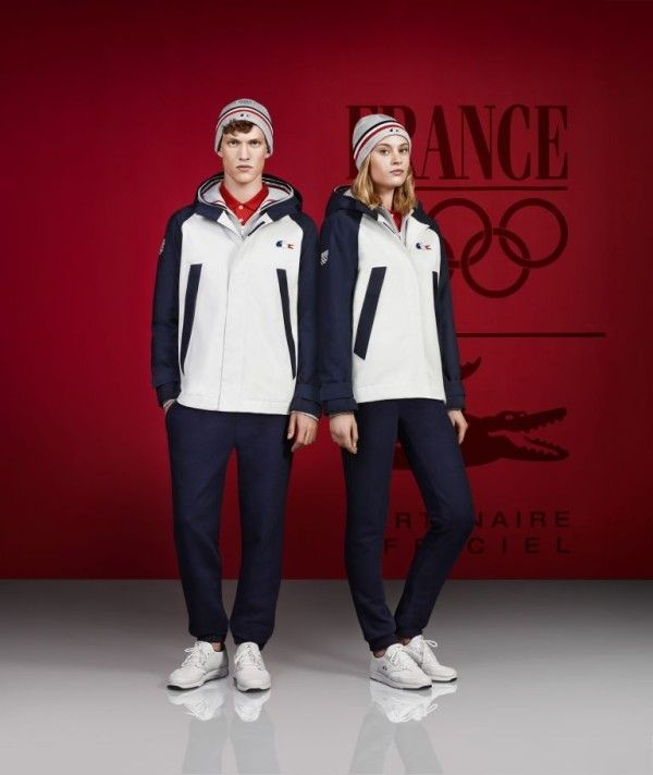 Lacoste to outfit Team France in Sochi and Rio | style in