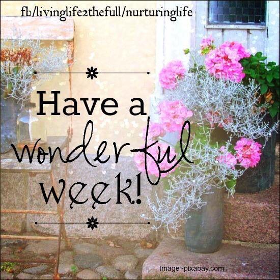 Risultati immagini per have a great week ahead