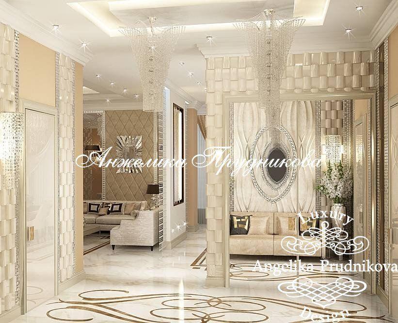 Дизайн квартир - «Дизайн квартиры в стиле ар-деко в ЖК «Садовые кварталы»» - фото 2017
