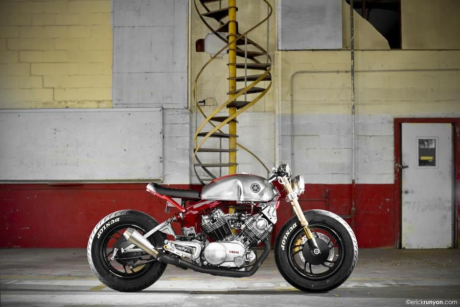 Rhubarbes Motorcycles By Erick Runyon Photographs Via Erick Runyon Photographs Motorcycles Classic Motorcycles Motorcycle Yamaha Cafe Racer