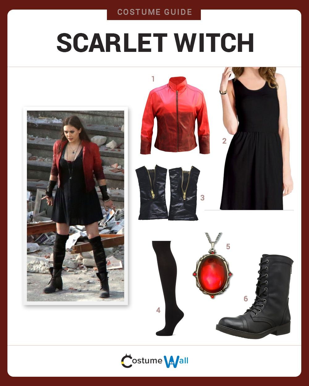 Dress Like Scarlet Witch Cosplay Ideas Costumes Halloween