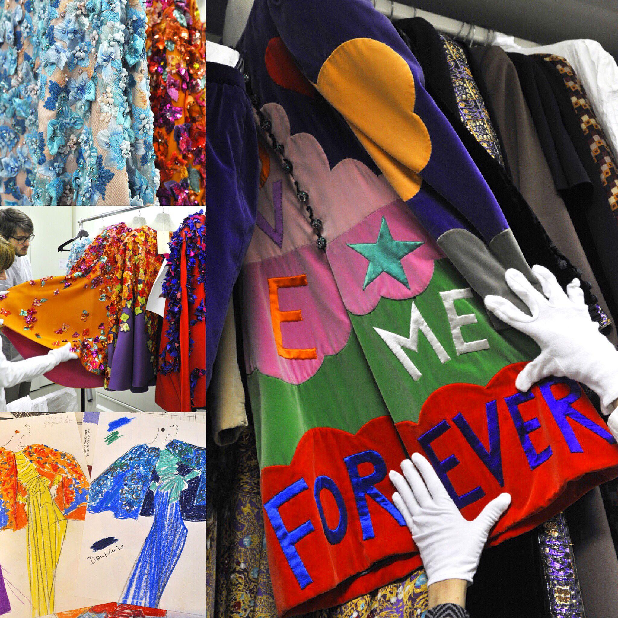 23598079191 Inside Yves Saint Laurent's Studio, Archives #paris #5 Avenue Marceau  #couturier's desk #signature eyeglasses #Moujik #pierreberge # yvessaintlaurent #ysl ...