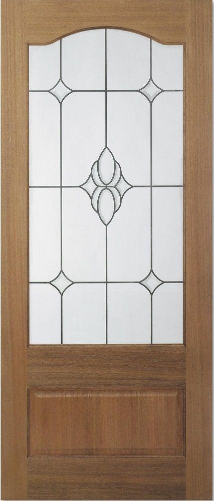 Leeds Doors Kent Diamond Bevelled Glass 78 X 27 Door - internal doors - hardwood - & Leeds Doors Kent Diamond Bevelled Glass 78 X 27 Door - internal ...