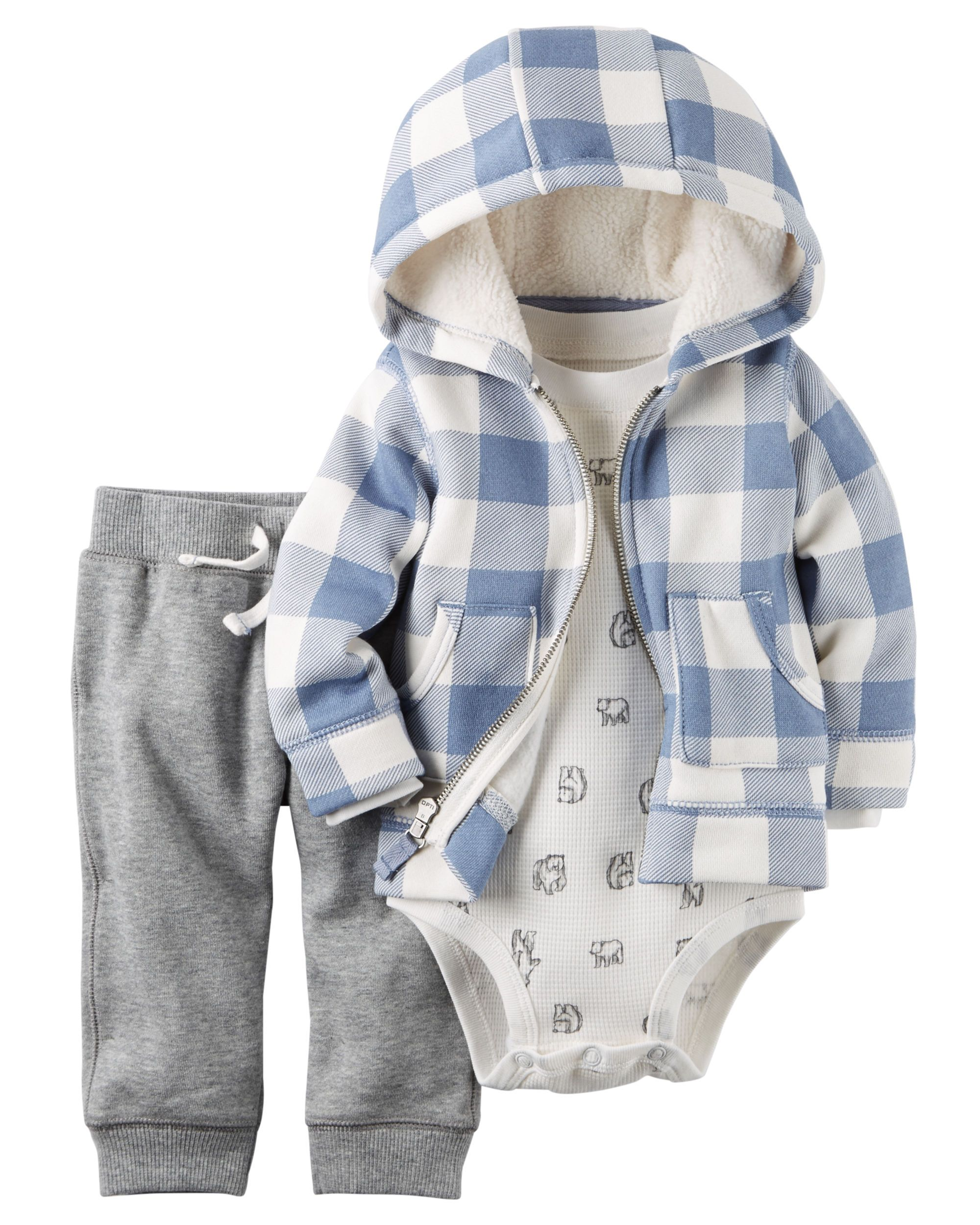 Garanimals 12m 5t Girls Micro Fleece Zipper Hoodie Jacket Sweat Shirt
