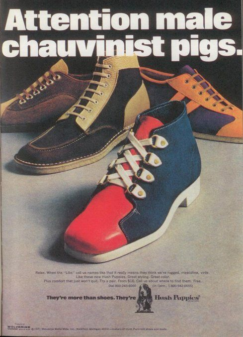 This 1971 Hush Puppies ad is one of the company's most