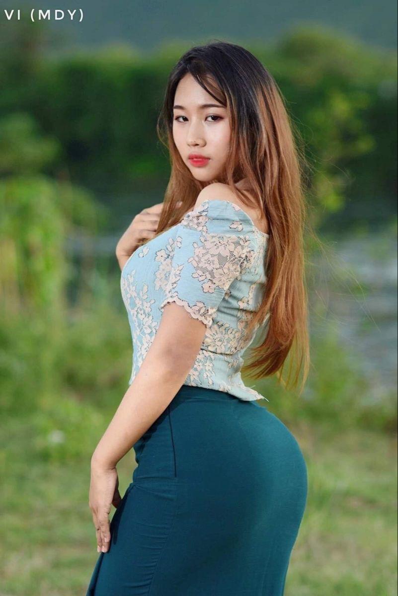Myanmar Model Girl in 2020   Gorgeous women, Burmese girls