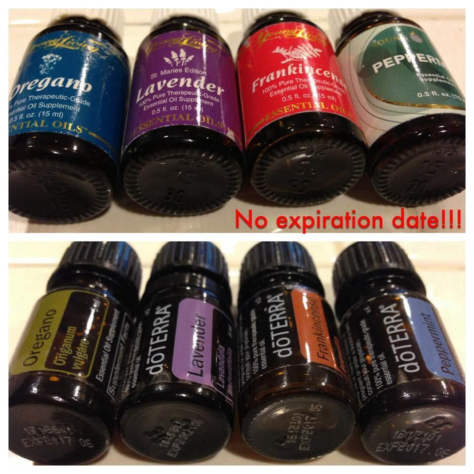 Young Living oils need no expiration date, they are so pure